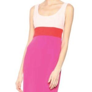 NWT Donna Morgan ColorBlock ScoopNeck Pencil Dress